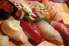2009-09-05 real Japanese sushi by tmexnl, via Flickr