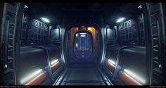 ArtStation - Star Citizen...The Starfarer: Modular corridors, Matthew Trevelyan Johns