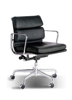 The Mastermind #officechair. Originally designed by Ray & Charles Eames in 1959 and updated with the soft pad design in the 1960's, the Soft Pad #Chair is sylishly elegant and famous in #offices the world over. http://www.officefurniturescene.co.uk/eames-soft-pad-chair