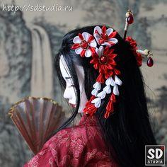 Кицунэ. Японский национальный костюм (кимоно)
