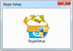Downloading and setting up Skype