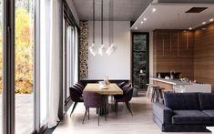 Современный дом, площадью 274 квадратных метра, в с. Мила, Киевской области был спроектирован дизайнерами студии Artpartner