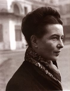 A very interesting woman, will have to read something of hers as well. Simone de Beauvoir, 1908-1986. Beauvoir wrote novels, essays, biographies, an autobiography, monographs on philosophy, politics, and social issues. She is best known for her novels, including She Came to Stay and The Mandarins, as well as her 1949 treatise The Second Sex, a detailed analysis of women's oppression and a foundational tract of contemporary feminism.