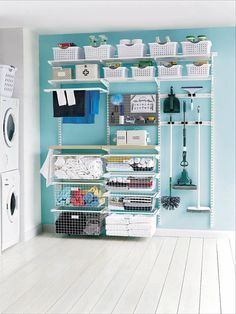 The elfa Laundry Custom Solution has been designed by the team at Howards to help sort and solve your laundry. No one likes making laundry hard! Available from Howards Storage World. Organization Station, Room Organization, Laundry Business, Laundry Sorting, Basement Laundry, Ikea Laundry, Laundry Area, Laundry Rooms, Howard Storage