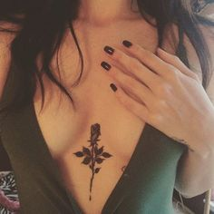 Small Sternum Tattoos Ideas That Still Stand Out