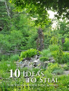Ten Ideas To Steal For Your Garden Next Spring Outdoor Crafts, Beautiful  Gardens, Outdoor