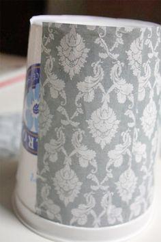 Upcycling: Modge Podge Yogurt Tubs  – Factory Direct Craft Blog