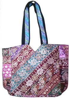 This hand bag is ethnic as well trendy. This bag can be matched with the many dresses as it is very colourful and vibrant . It is available in many colours. Fine sequence work is done on the bag.This bag is handcrafted in Jaipur, Rajasthan which is famous for its vibrant colours and rich cultural heritage.