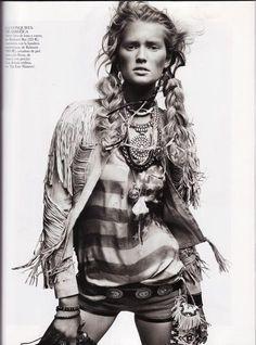Vogue Espana - Reserva India