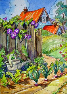 Storybook Cottage Series Garden Beginnings | Flickr - Photo Sharing!