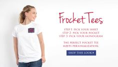 Our new frocket tees! jewelboxonline.com