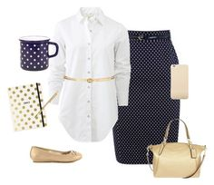 """Polka Dot outfit. Modest 