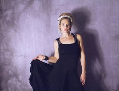 Hooded Obsidian Bamboo Athena Halter Dress / Black Maxi Dress www.morethanmammalinc.etsy.com #royalpeasantry #shopping #fashion #athenadress #blackdress #halterdress  #postapocalypticfashion