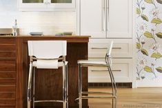 #Kitchen Idea of the Day: Counter-height kitchen island seating.