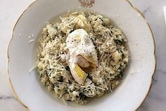 """Cauliflower and Spinach """"Risotto"""": Meatless Monday"""
