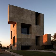 Alejandro Aravena's Innovation Center UC photographed by Cristobal Palma