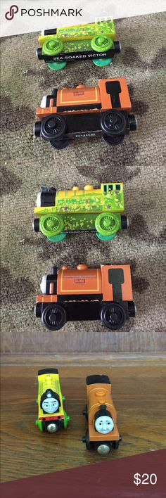 Thomas the Train: Duke and Sea-Soaked Victor Excellent used condition. Authentic Thomas & Friends Other