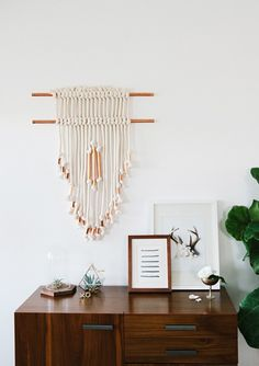 Follow this tutorial to DIY this copper wall art.