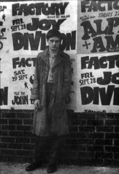 Ian Curtis from Joy Division Joy Division, Ian Curtis, Mass Culture, Charming Man, Aesthetic People, First Love, My Love, Music Images, Post Punk