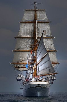 ♥ Ever see the parade of tall ships? A great sight!