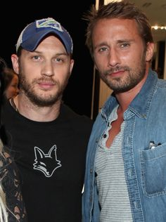 """tomhardyvariations: Tom Hardy interviews his friend Matthias Schoenaerts in the latest edition of Interview Magazine. It's a really great, long conversation. Posted below the cut. """"How do you keep it real on the floor, bro?""""— Keep reading"""