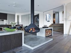 The ErgoFocus complementing perfectly the mix of elegance and functionality of the Parker House, in Portsea.
