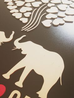 Elephant guest book alternative 3D Wedding by TotallySalinda