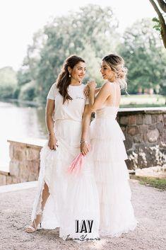 pc @fabijanvuksic model @luisalion ganze story auf @friedatheres Dress @catherine__deane skirt + Shirt  @iay_iamyours Jacket @chosenbyoneday  Total look via @iay_iamyours #wedding #bride #brides #bridedress #bridetobe #love #weddingdress #marry #bridegang #brideinspiration #weddingdecoration #iamyours #realbride #bridalinspiration #boho #bohowedding #bohohochzeit #bohobraut #bohobride #hochzeit #braut #brautkleid #brautmode #hochzeitskleid #bohobrautkleid #bohohochzeit #weddingdecoration Good Morning Ladies, Bridal Dresses, Flower Girl Dresses, Perfect Bride, Wedding Goals, Models, Women Empowerment, Bridal Style, Girl Power