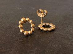 Håndlavede øreringe - sølv øreringe og guld øreringe i eksklusivt design
