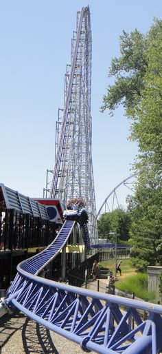 Millennium Force @Jane Izard Izard Izard Lee Point #cedarpoint #rollercoaster