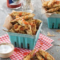 Fried Okra and Jalapeños Recipe - Taste of the South