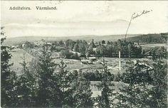 Värmland Eda kommun Köla Adolfsfors herregård 1911