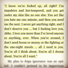 OH MY GOD!! I love this damn man! fictional or not!!! travis maddox - beautiful disaster
