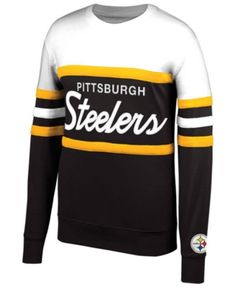 2910142beb0 Mitchell   Ness Men s Pittsburgh Steelers Head Coach Crew Sweatshirt    Reviews - Sports Fan Shop By Lids - Men - Macy s