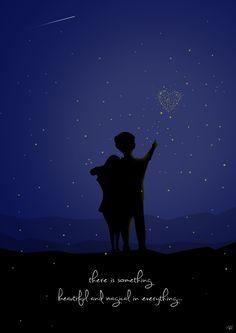 #fireflies #love #illusion #magical #illustrated #adobe_illustrator