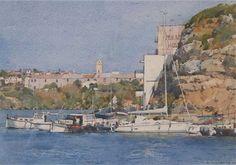 Moored vessels - Mahon Harbour - Menorca