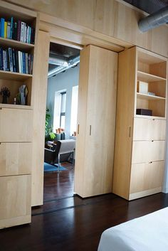 Architizer Your sliding bookcase secret passageway fantasy, fulfilled: http://arc.ht/1reAR3U