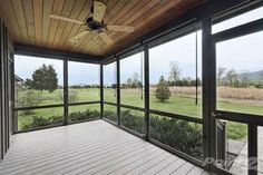 sun room. Too much Glass?