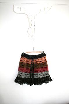 www.sheepandcow.is  Chrochet skirt from Icelandic wool
