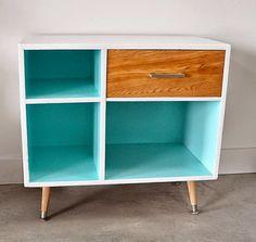 14 Furniture Makeover Ideas for Upgrading Free Craigslist Finds via Brit + Co.
