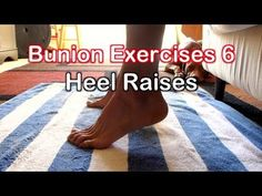 Bunion Exercises 2: Toe Extension Exercise for Bunions - YouTube