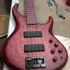 Michael Tobias handmade 4 string bass