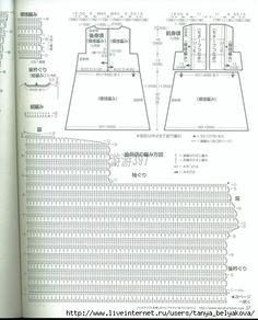 4 OF 4 SPLIT YOKE Crochetpedia: Crochet Short Dresses or Long Shirts