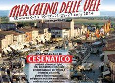 Un mese con il Mercatino delle Vele sul Portocanale http://www.hotelcesenaticovacanze.it/?p=2624