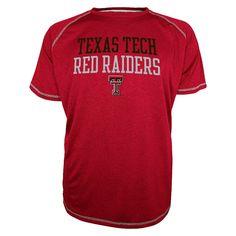 5c770a8cc04 NCAA Texas Tech Red Raiders Men s Raglan T-Shirt - Red S Texas Tech Red