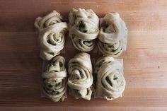 Steamed Scallion Rolls, a recipe on Food52