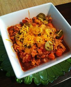 taylor made: clean 17-day diet turkey chili