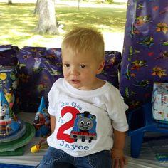 Boys Birthday Train ShirtThomas The Train Birthday ShirtBaby
