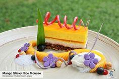 Mango Sticky Rice Mousse - Renaissance Phuket Resort & Spa#photooftheday #Phuketindex #Phuket #Thailand #South_of_Thailand #RenPhuket #TheMaiKhaoLife #Mango #StickyRice #Mousse #MangoStickyRiceMousse #dessert #aroi #mamuang #relax #chill #breakfast #lunch #dinner