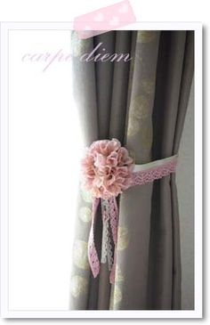 Curtain Holder Decor